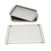 LCM Home Fashions, Inc. 3 Piece Baking Sheet and Rack Set