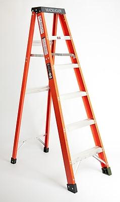 Michigan Ladder 3.17 ft Fiberglass Step Ladder w/ 300 lb. Load Capacity