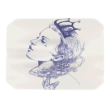 KESS InHouse Queen of the Sea Placemat; Purple