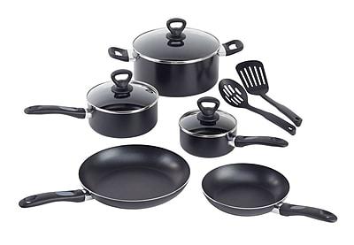 WearEver Comfort Grip 10 Piece Cookware Set;