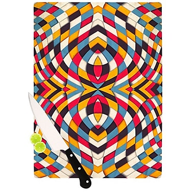 KESS InHouse Stained Glass Cutting Board; 11.5'' H x 15.75'' W x 0.15'' D
