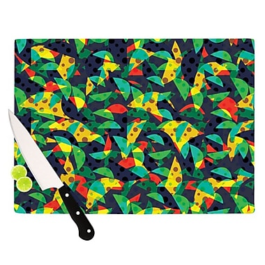 KESS InHouse Fruit and Fun Cutting Board; 11.5'' H x 15.75'' W x 0.15'' D