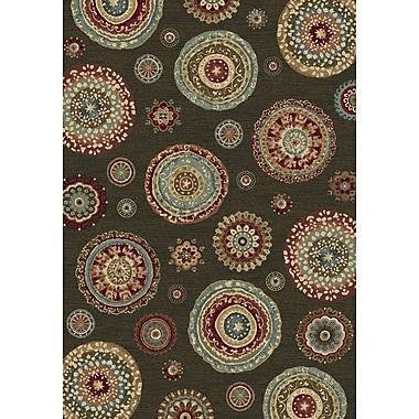 Dynamic Rugs Ancient Garden Persian Multi Area Rug; 3'11'' x 5'7''