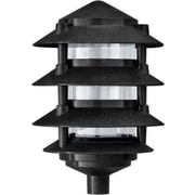 Dabmar Lighting 1-Light Pathway Light; Black