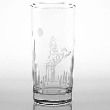 Rolf Glass Duck 15 Oz Cooler Glass (Set of 4)