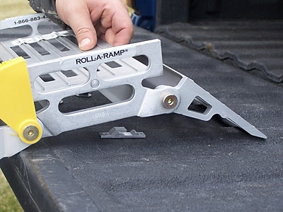 Roll-A-Ramp Pickup Tailgate Brackets for Mounting to Flat Surface WYF078275551528