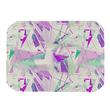 KESS InHouse Shatter Placemat; Purple