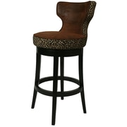 Impacterra Augusta 26.75'' Swivel Bar Stool