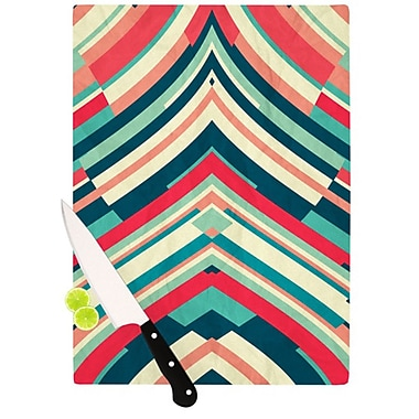 KESS InHouse Good Night Nobody Cutting Board; 11.5'' H x 15.75'' W x 0.15'' D