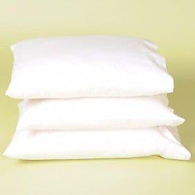 White Lotus Wool Pillow; Standard