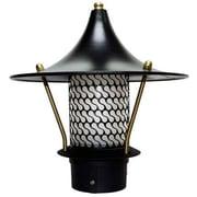 Dabmar Lighting 1-Light Pathway Light; Black