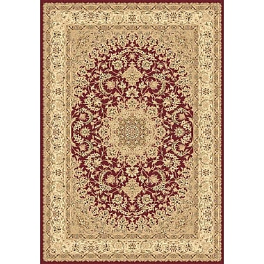 Dynamic Rugs Legacy Duncaster Red Rug; 2' x 3'6''