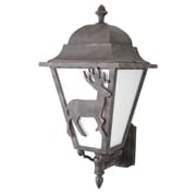 Melissa Americana 3-Light Outdoor Sconce; Architectural Bronze