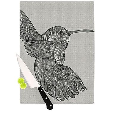 KESS InHouse Hummingbird Cutting Board; 11.5'' H x 8.25'' W x 0.25'' D