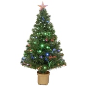 Jolly Workshop 3' Green Artificial Christmas Tree w/ 20 LED Lights w/ Stand