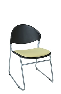TrendSit Scoop Guest / Meeting Chair (Set of 4); Coffee Bean 100pct Recycled