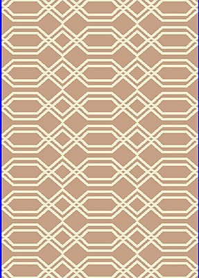 Dynamic Rugs Passion Beige/White Rug; Rectangle 9'2'' x 12'10''
