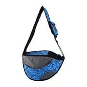 OneForPets Messenger Bag Pet Carrier; Blue
