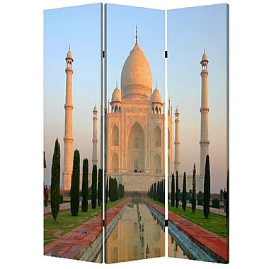 Screen Gems 72'' x 48'' Taj Mahan 3 Panel Room Divider