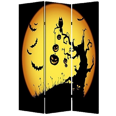 Screen Gems 72'' x 48'' Halloween 3 Panel Room Divider