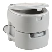 Coleman Large Portable Flush Round One-Piece Toilet