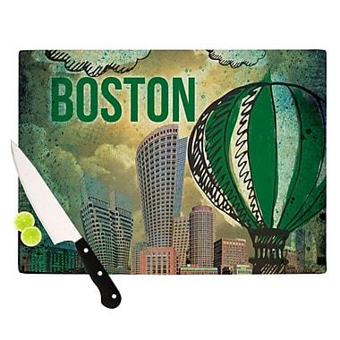 KESS InHouse Boston Cutting Board; 11.5'' H x 8.25'' W x 0.25'' D