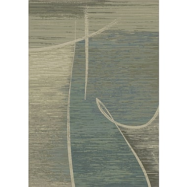 Dynamic Rugs Eclipse Ocean Area Rug; Rectangle 3'11'' x 5'7''
