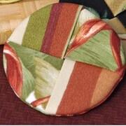 Pacific Table Linens Outdoor Wine Glass Coaster (Set of 2); Makeba Capri