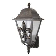 Melissa Americana 3-Light Outdoor Sconce; Architectural Bronze