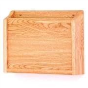Wooden Mallet HIPPAA Compliant Chart Holder; Light Oak