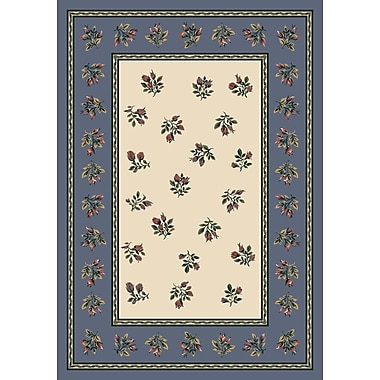 Milliken Signature Francesca Lapis Area Rug; Rectangle 7'8'' x 10'9''