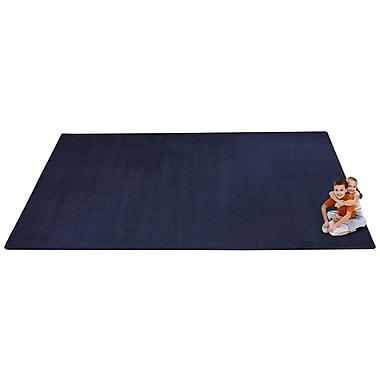 Kid Carpet KidTastic Dark Blue Area Rug; Rectangle 12' x 18'