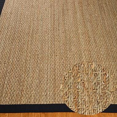 Natural Area Rugs Black/Tan Maritime Area Rug; 9' x 12'