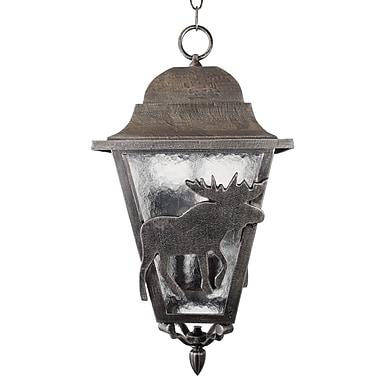 Melissa Americana 3-Light Outdoor Hanging Lantern; Architectural Bronze