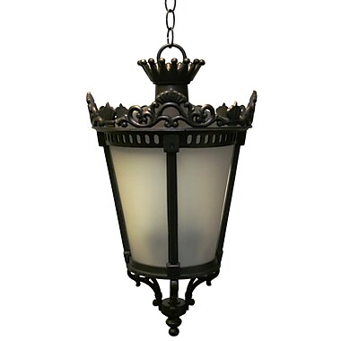 Melissa Tuscany 4-Light Outdoor Hanging Lantern; Old World