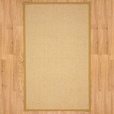 Natural Area Rugs Natural Fusion Gold Area Rug; Runner 2'6'' x 8'