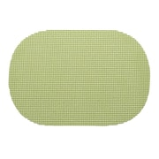 Kraftware Fishnet Placemat (Set of 12); Mist Green