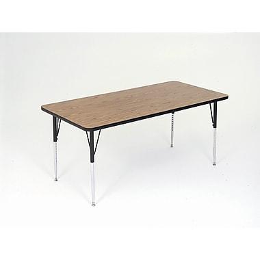 Correll, Inc. Rectangular Activity Table; 24 x 60