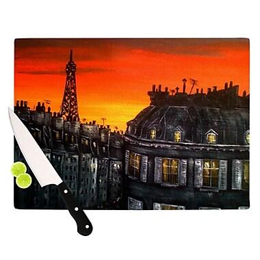 KESS InHouse Paris Cutting Board; 11.5'' H x 15.75'' W x 0.15'' D