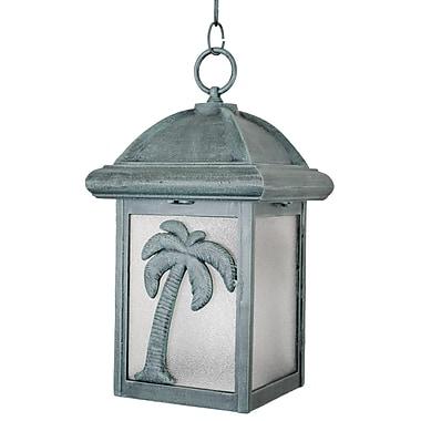 Melissa Americana 1-Light Outdoor Hanging Lantern; Old World