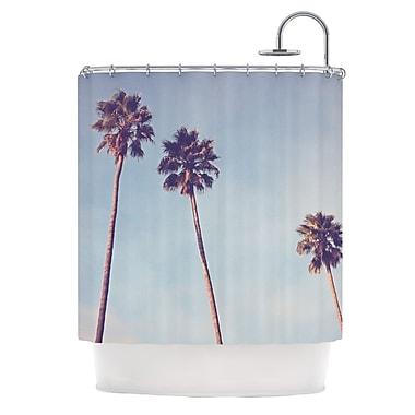 KESS InHouse Sunshine and Warmth Shower Curtain