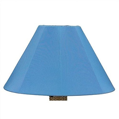 Patio Living Concepts 25'' Sunbrella Empire Lamp Shade; Sky Blue