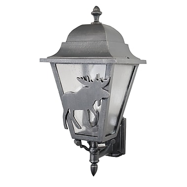 Melissa Americana 3-Light Outdoor Sconce; Old World