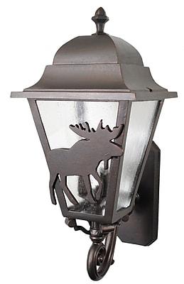 Melissa Americana 3-Light Outdoor Sconce; Old Bronze