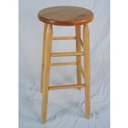 Dixie Seating Lincoln 30'' Bar Stool; Natural