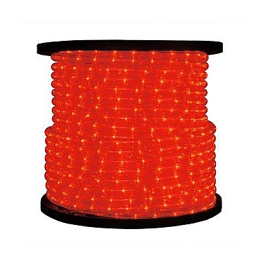 Queens of Christmas Rope Light; Red