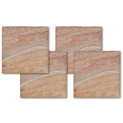 Thirstystone Rainbow Stone Square Coasters (Set of 4)