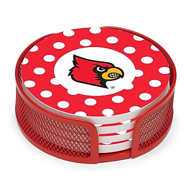 Thirstystone 5 Piece University of Louisville Collegiate Coaster Gift Set