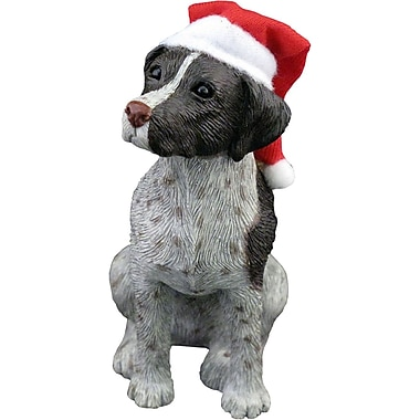 Sandicast German Shorthaired Pointer Christmas Ornament