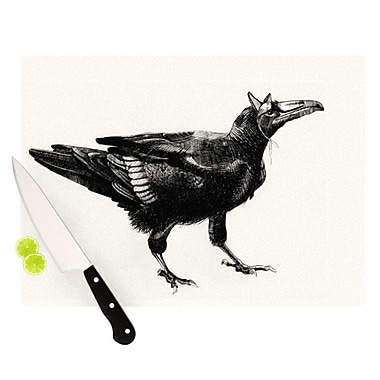 KESS InHouse Raven Cutting Board; 11.5'' H x 8.25'' W
